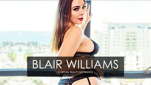 Its time for you to experience the gorgeous porn star, Blair Williams. Shes hot, wet, and ready in her stockings, high heels, and sexy lingerie. In this one-on-one private session, you'll see and feel just how good her pussy and legendary blowjob skills really are. Such a lovely way to spend the afternoon!  (Video duration: 34 min)
