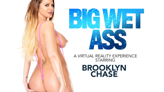 Brooklyn Chase in Brooklyn Chase Gives a show and fucks you in VR