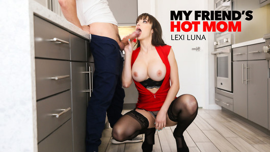 It's spring break and Lexi Luna has taken in her son's friend to do some work around her house. While Lexi's husband is at work and son is out on the town for spring break festivities, Bambino gets to work on his Friend's Hot Mom's wet, bare pussy! Doesn't look like the house work is getting done any time soon. (Video duration: 30 min)