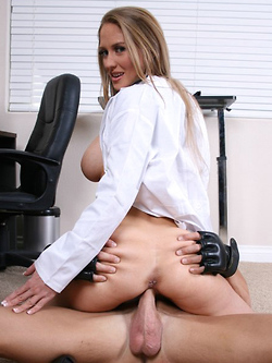 Abby Rode busty doctor fucks her patient