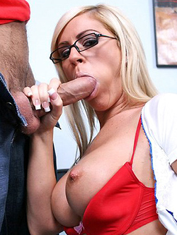 Ahryan Astyn horny nurse extracts a big load