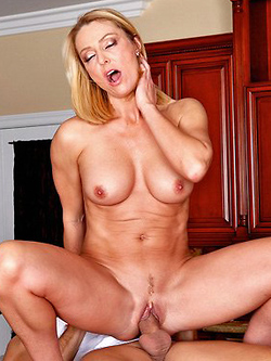Brenda James has an insatiable need for fresh cock