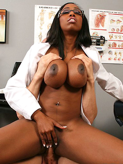 Codi Bryant fucking her patient in her office