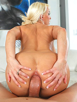 Holly Halston gets her oily butt fucked
