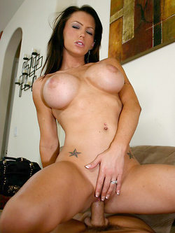 Jenna Presley screwing her husband in the living room