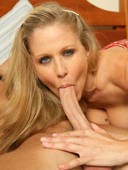 Julia Ann will do everything to cure her son's friend