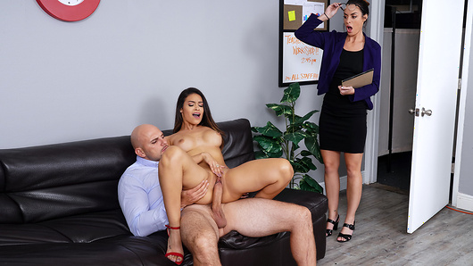Welcome to a very special school where sexy math teachers like Katana Kombat give lessons in subtraction of clothing, the addition of mouths on pussy and the multiplication of orgasms before they get caught by members of the administration! (Video duration: 37 min)
