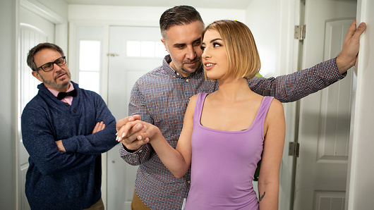 Kristen Scott's rich husband won't stop ranting about his frugal and worldly twin brother -- not even during sex. When Kristen and her infamous brother-in-law (Keiran Lee) finally meet, she turns to him to fulfill her needs. (Video duration: 39 min)