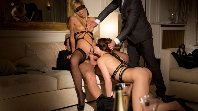 Luxure - Kinky sex with Lola Reve and Taylor Sands