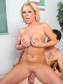 Ahryan Astyn gets her pussy disciplined at the reform school
