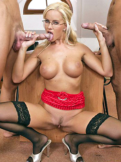 Cindy Dollar sexy professor fucks her student in literature class