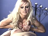 This clip from Brittany Andrews Bitches Beating Boys by Brittany Andrews features a lucky little slave getting smothered by his mistresses big titties and forced to jerk off.