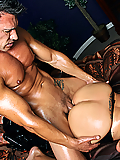 Kelly Divine welcomes his hard cock deep inside her butt