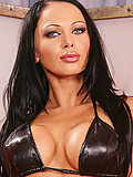 Cristina Bella looks lusty in leather