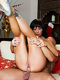 Brooklyn Lee celebrates the upcoming holiday period with steamy sex