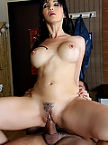 Katsuni relieves his tension with her mouth and pussy