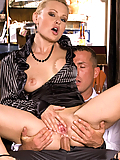 Katy Sweet gets asspounded by the waiter in the diner