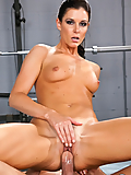 India Summer working out her vaginal muscle with her personal trainer