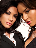 Andy San Dimas gets lost in lesbian lust with Franceska Jaimes