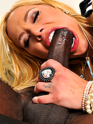Shyla Stylez rides his black cock like a raging nympho