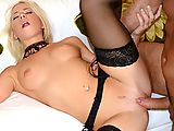 Kiara Lord is an amateur slut who wants to make it big in the porn biz, so she sent us this tape of her and her man having an intense fuck fest. She deepthroats that big cock like it's nothing, and then takes a serious pounding in her little pink pussy!
