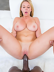 Brooke Wylde gets slammed by his massive black cock