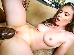 We are back, motherfuckers! And guess what? The Monsters Of Cock machine is revved up and ready to pulverize some tight white pussy. The perfectly slim and adorable Casey Calvert is up in this week's episode, and you goddamn know what's about to go down! We gonna feed this nymphomaniac some big black dick! Her sweet little pink cunt gets smashed, and her throat gets pounded relentlessly! Hardcore no holds barred interracial banging action!