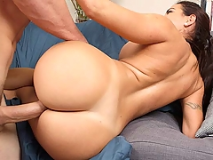 Check out sexy latina Julianna Vega. I'm talking about ass, ass, ass. All day, everyday! This juicy piece of ass shakes as she walk, and shakes as she gets that fat pussy pounded from all angles. JMac doesn't hold back when it comes to pounding a sweet fat pussy like Julianna Vega's. Jmac hit it from the back, side, front and even hoisted her up and fucked her in the air. Now that's what I'm talking about. This ass shaking update is a must see!