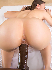 Alexis Rodriguez gets pounded by her photographer's massive black cock