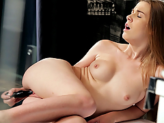 Arousal doesn't choose the moment it comes. It just arrives and a girl cannot help but bend to its will. Alexis Crystal got horny under the shower, and her fingers quickly found her needy pussy to satisfy the burning desire...
