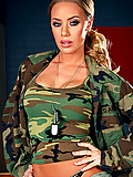 Nicole Aniston fucking a fellow soldier on video