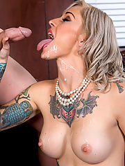 Kleio Valentien naughty therapist bangs a client in her office