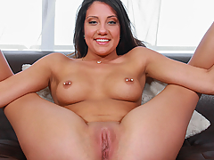 Watch a real casting video preview starring Brooke Myers, courtesy of Casting Couch X!