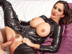 Ava Addams is making her boyfriend's son, Tyler, a sandwich. Tyler would rather have Ava fuck him though, but she's not really interested. Luckily Tyler has his daydreams, and in them he gets to fuck Ava all night long!