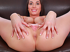 Watch a real casting video preview starring Gia Love, courtesy of Casting Couch X!