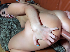 With a big juicy booty like hers, Brittany Shae is sure to go platinum! What started off as just a little extra footage, turned into an all out anal fuck fest when this horny pop star just had to have every one of her holes stuffed with her boyfriend's cock!