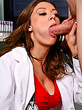 Carmen McCarthy fucking a big cock in the name of science