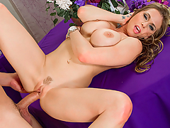 Rachel Roxxx is so excited that she caught the bouquet, but she notices the photographer is a little sad. She goes over to talk to him. He's just upset that he just had to watch his ex get married. Rachel decides to help cheer him up by offering up her pussy for him to fuck!
