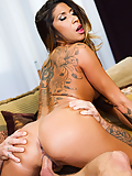 Kayla Carrera makes him shoot a fresh load all over her