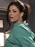 Pornstar India Summer as a doctor taking on the investigators big black cock