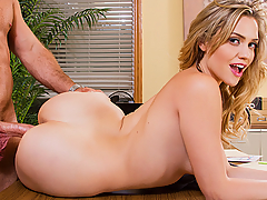 Mia Malkova needs a little help at work. She calls her co-worker over to give her a hand. She actually doesn't really need help, it was just a ploy to talk to him and seduce him into fucking her on her desk!