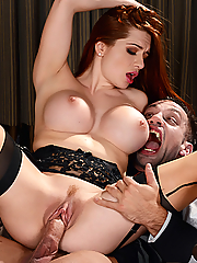Veronica Vain gets drilled by a vampire on Halloween