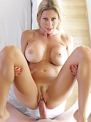 Alexis Fawx passionately making love to her toyboy