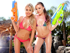 Watch a free Twistys lesbian video preview starring Aubrey Star and Kendall Kayden!