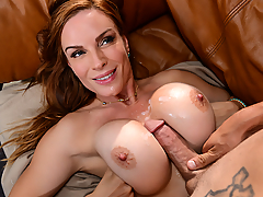 Tyler Nixon is over at his friend's house as they organize a yard sale to make some cash to pay for an escort. Only, Tyler soon realizes that his friend's mom Diamond Foxxx is one hot ass MILF with huge tits. While she playfully teases Tyler, he tries desperately to impress her and get his dick wet without having to spend a dime. Ms. Foxxx, being the busty nympho that she is, is only teasing this sleaze so that he'll be eager to please her pussy!
