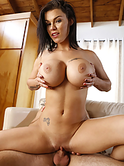 Peta Jensen seduces her stepson with her magnificent boobs
