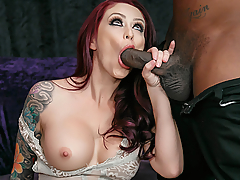Monique Alexander thinks Rico is just another fan, so when he asks her for tips on how to get into the biz, she unenthusiastically tells him he needs to have a big dick and the ability to last during sex. Once Rico shows Monique the well hung heat he's packing, she's more than willing to test out his ability to last through a world class fucking from a top industry talent.