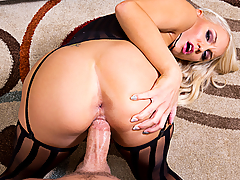 Kenzie Taylor realizes that her husband had a long day at work, so she makes it her mission to make sure he releases some of that stress by jizzing all over her.