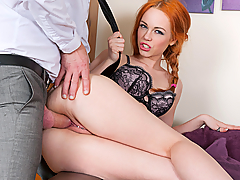 Ella Hughes is having issues with her French lessons. She just can't seem to open her throat wide enough to make the correct sounds. Luckily her French professor knows exactly what to do to make her open that throat...