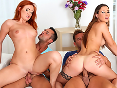 Eva Berger, Lulu Love - Video preview from Euro Sex Parties